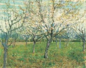 cherry tree by van Gogh