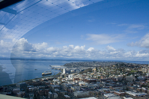 from the space needle