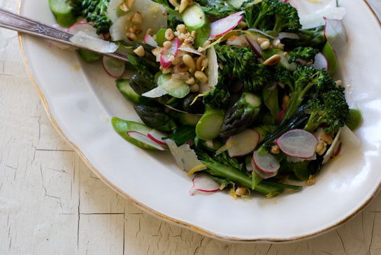 Asparagus Salad from 101cookbooks