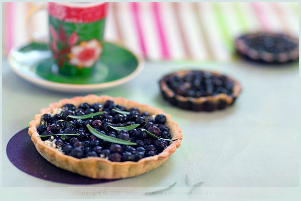 More of a tart than a pie but probably just as delicious