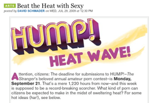 local advertisers taking advantage of the heat