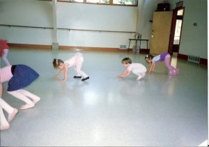 Guess which one I am? Either I was original... or terrible at ballet.
