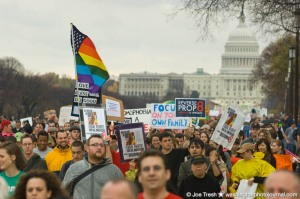 Prop 8 Protest in DC